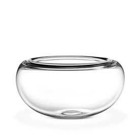 Clear transparent bowl. Holmegaard provence cm by