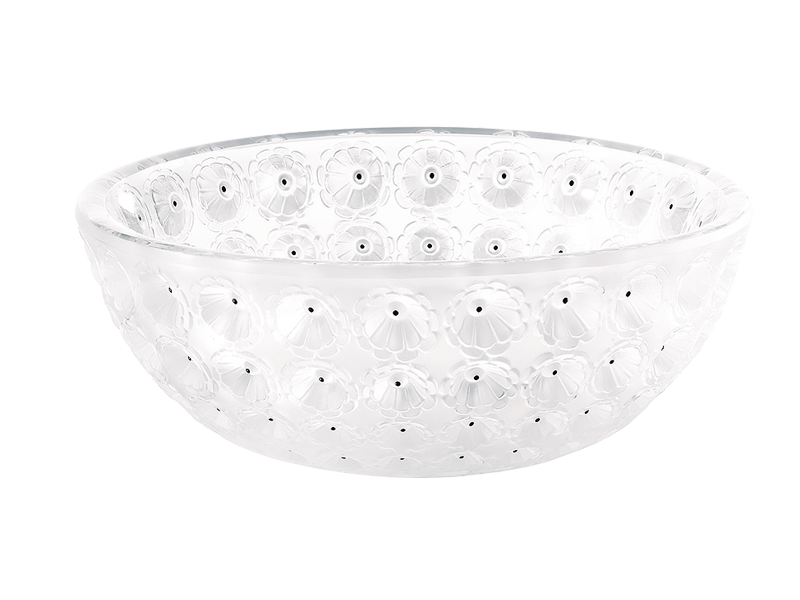 Transparent bowl clear. Nemours ecj luxe
