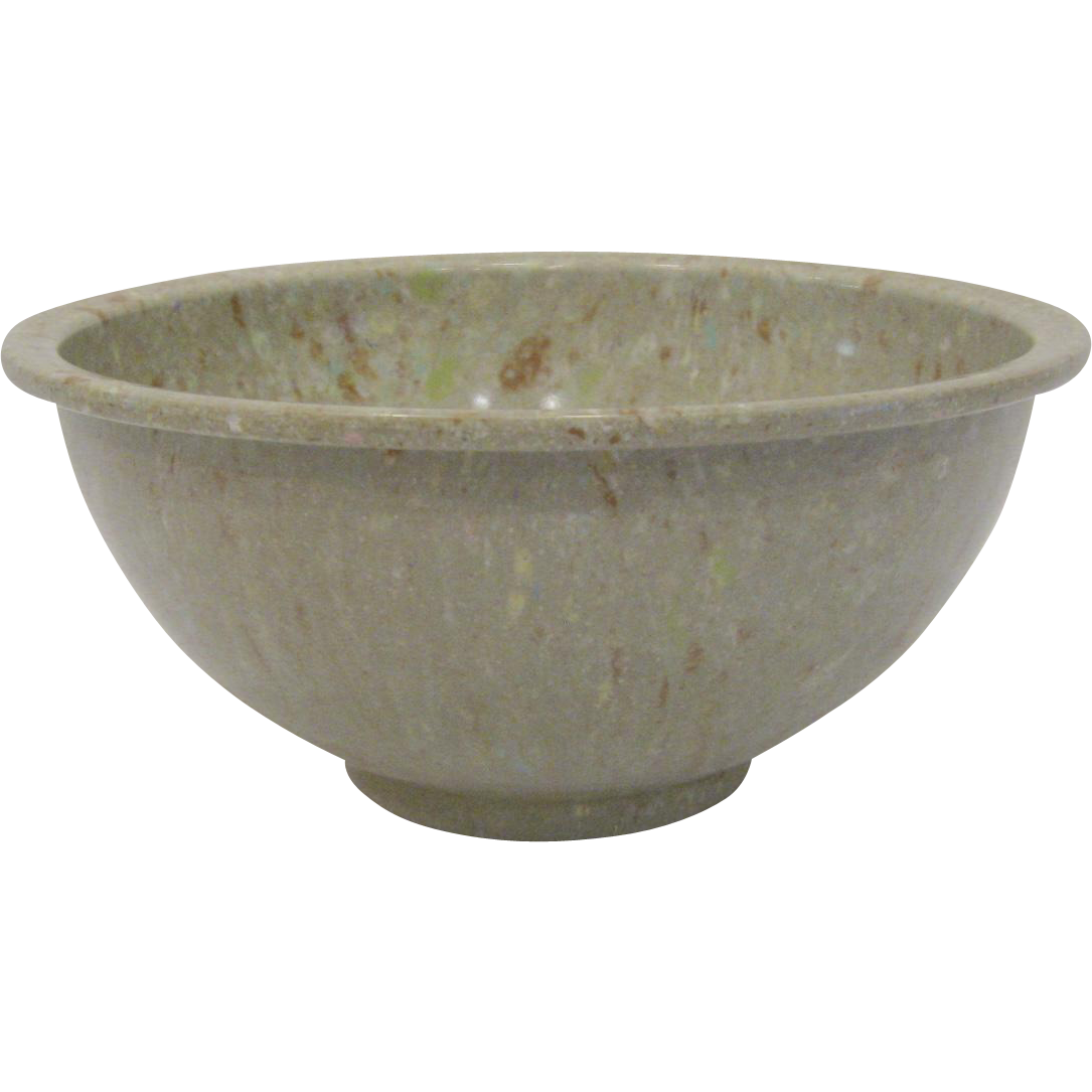 Bowl transparent cooking. Texas ware confetti mixing