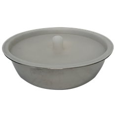 Bowl transparent large. Big country raw and