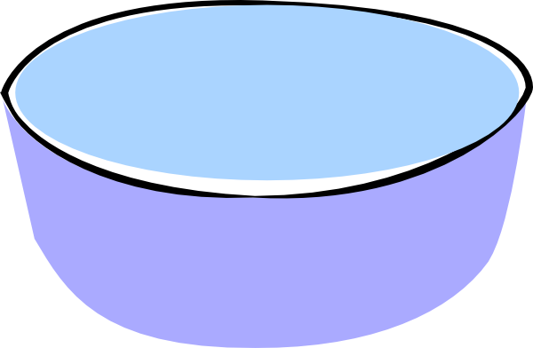 Bowl transparent water clipart. Huge freebie download