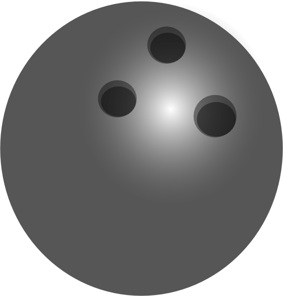 Bowling ball clipart png. Gray