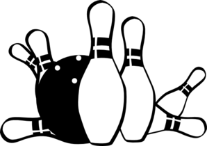 Bowling clipart. Free