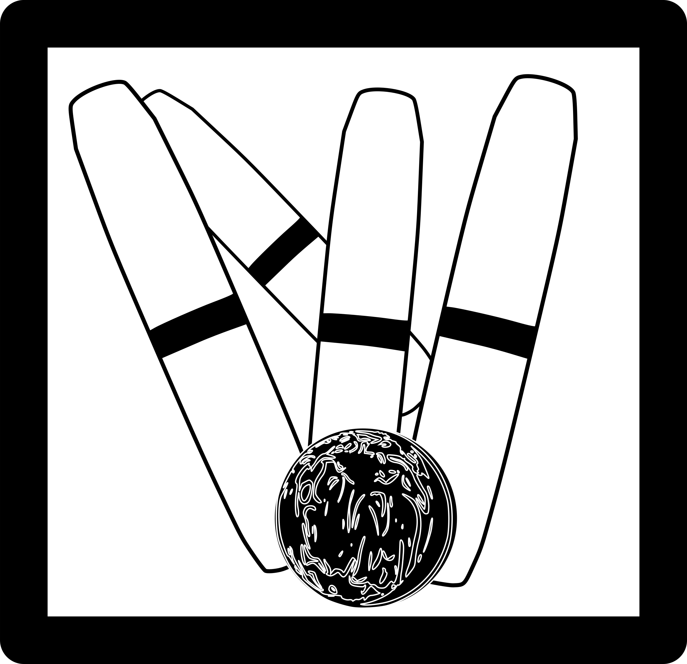Bowling clipart candlepin bowling. Icon big image png