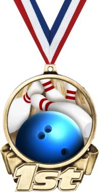 Bowling clipart medal. Star double action