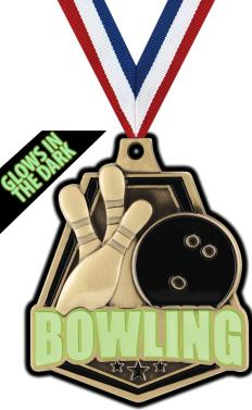 Bowling clipart medal. Glow in the