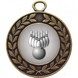 Bowling clipart medal. Ten pin medals bronze