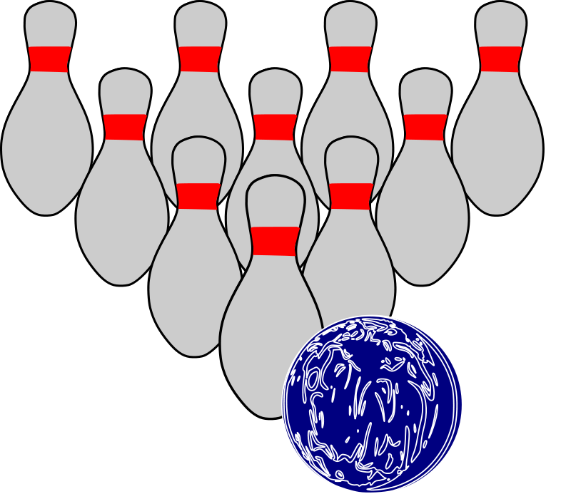 Bowling clipart pizza. Sports pictures royalty free