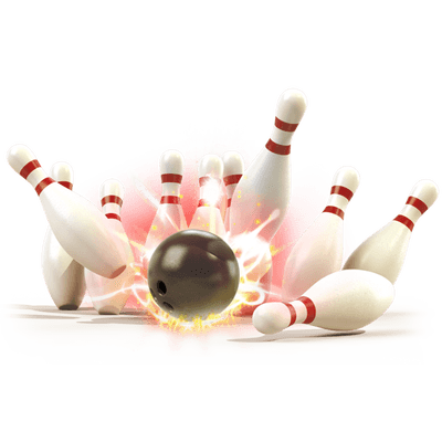 Bowling clipart png. Pin transparent stickpng strike