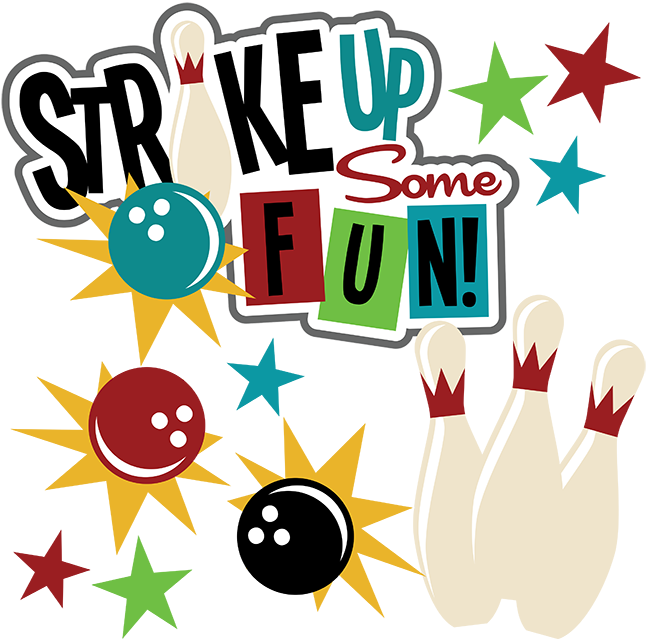 Bowling clipart summer. Strike up some fun
