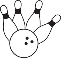 Bowling clipart svg. Pin file would be