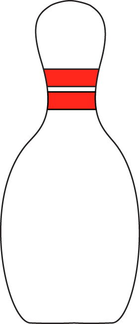Bowling pin clipart png. Free