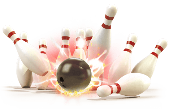 Bowling png. Strike transparent stickpng