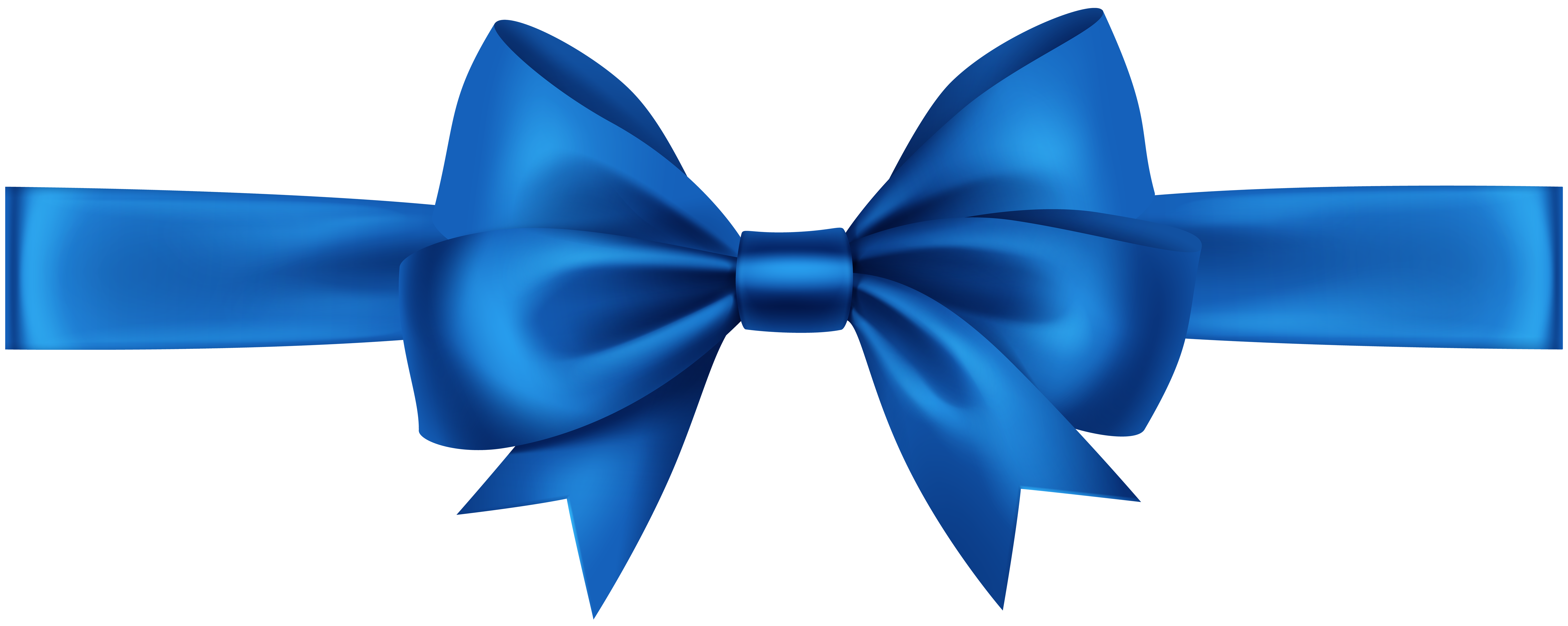 Blue ribbon png. With bow transparent clip