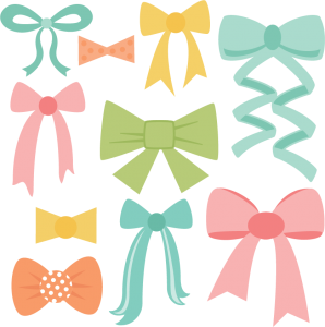 Bows clipart file. Miss kate cuttables product