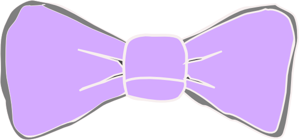 Bows clipart purple. Bow clip art at