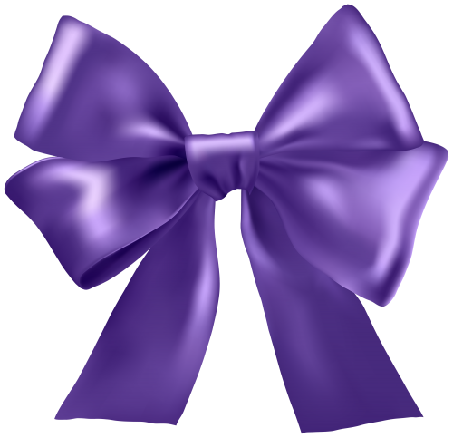 Purple bow png. Ribbon clipart bows and
