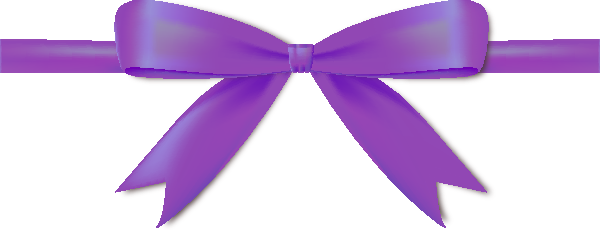Bows clipart violet ribbon. Purple bow icon vector