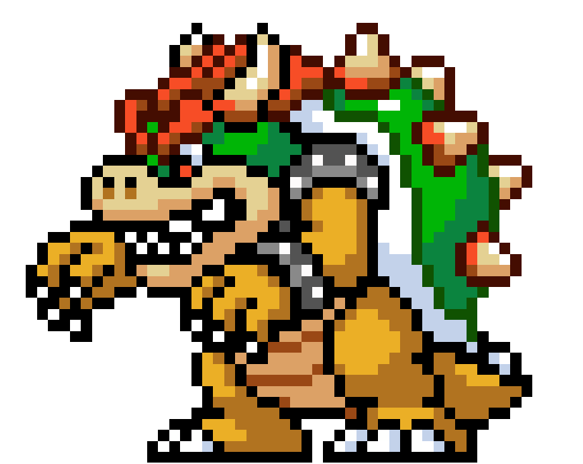 Bowser 8 bit png. Pin by prp on
