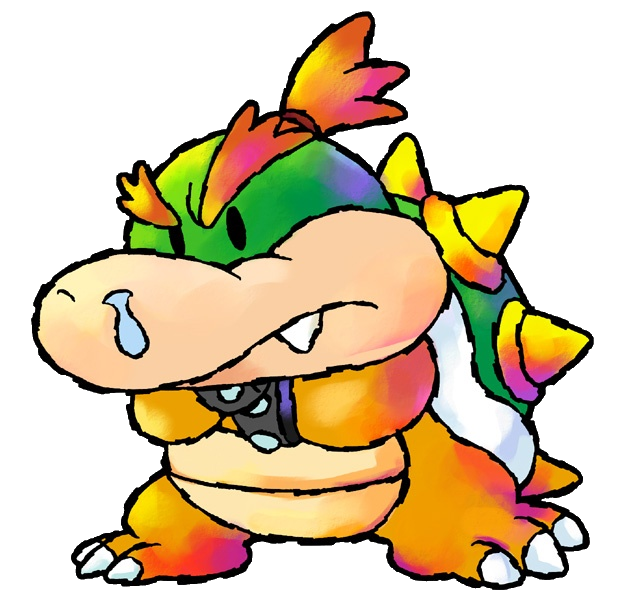 Browser Drawing Mario Bowser Transparent Png Clipart Free