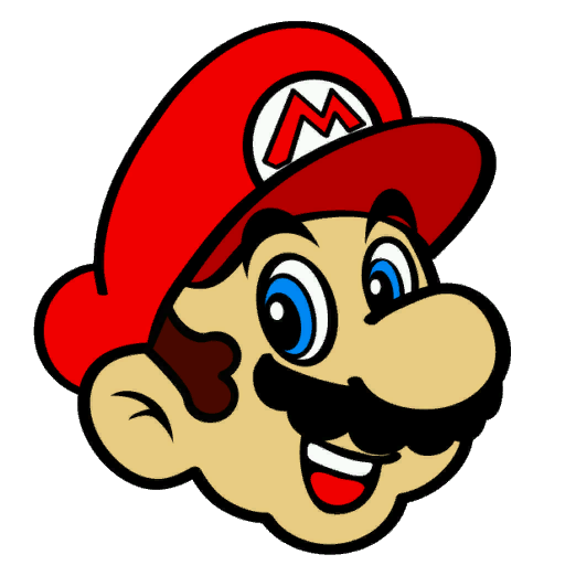 Bowser head png. Image mario s right