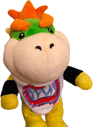 Bowser Jr Plush Png Picture 464395 Bowser Jr Plush Png
