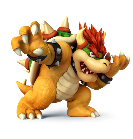 Bowser smash 4 png
