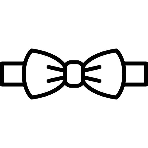 Male vector bow tie. Icons free download