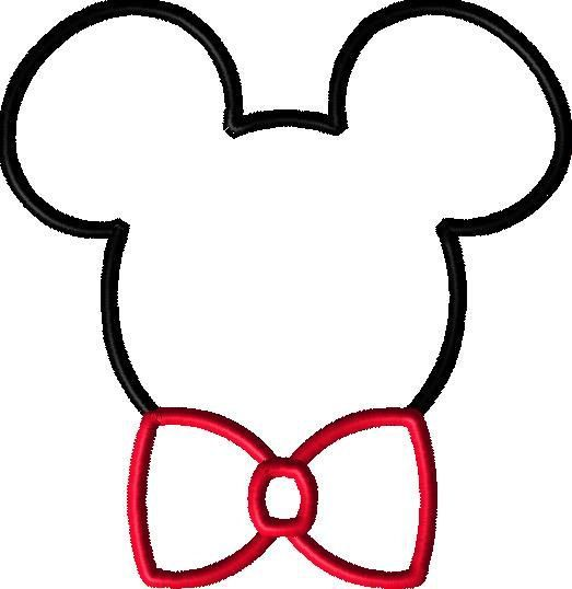 Bowtie clipart minnie mouse bow. Machine embroidery ties mister