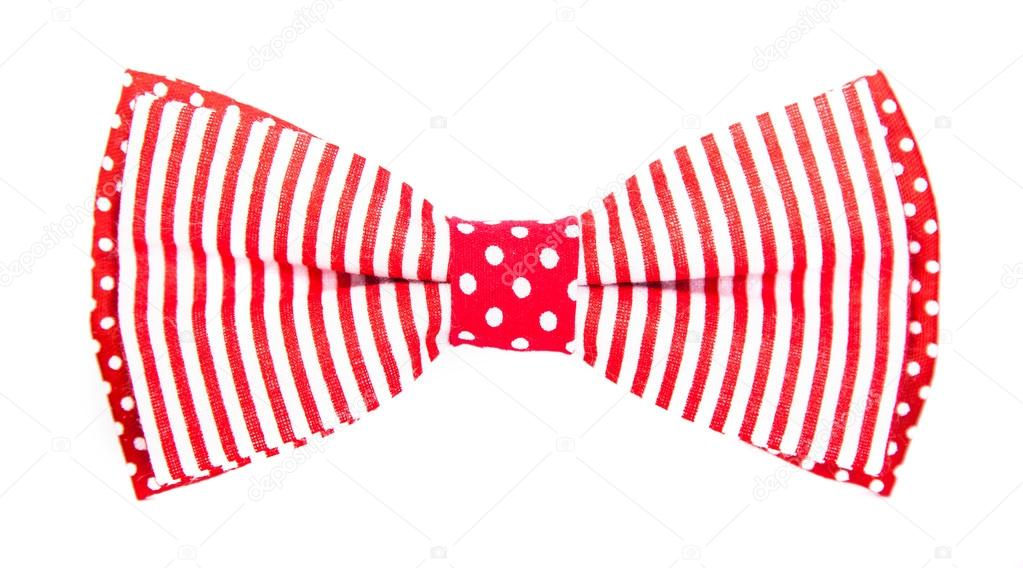 Bowtie clipart striped. Red bow tie with