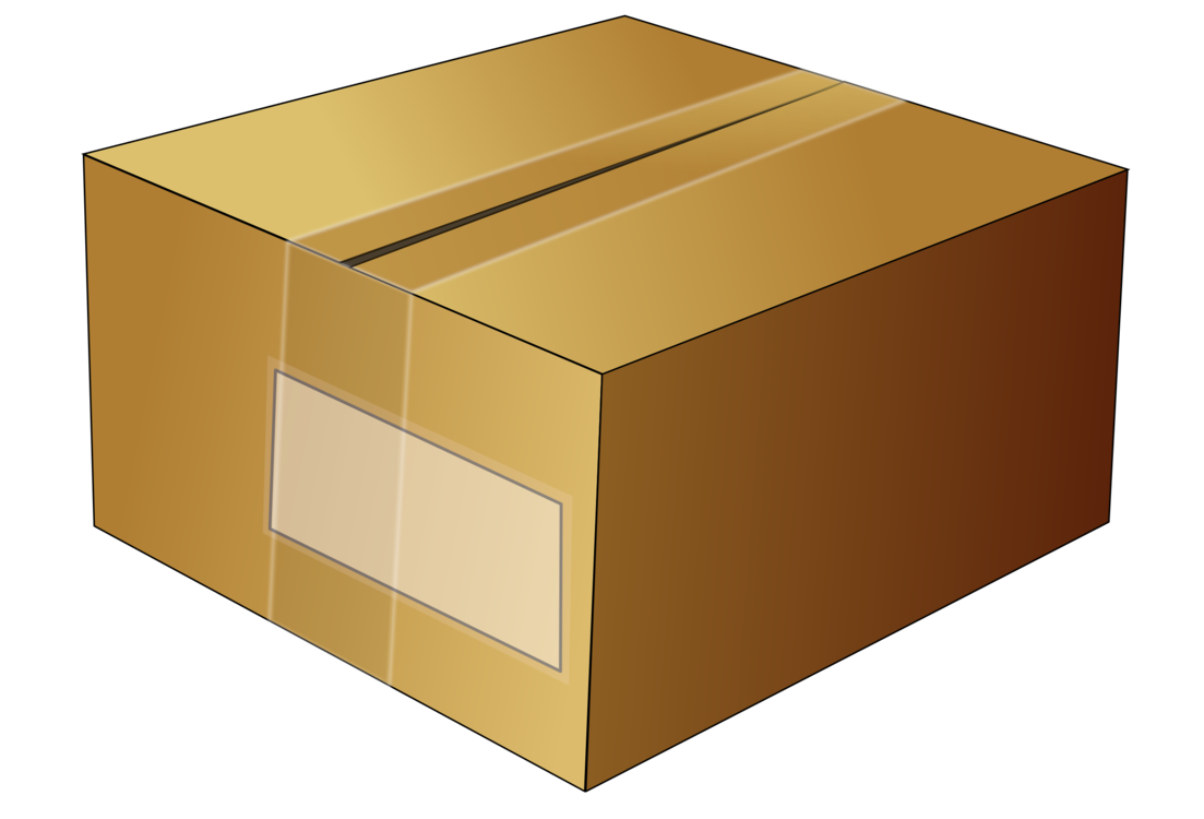 Box clipart packaging. Paper cardboard adhesive tape