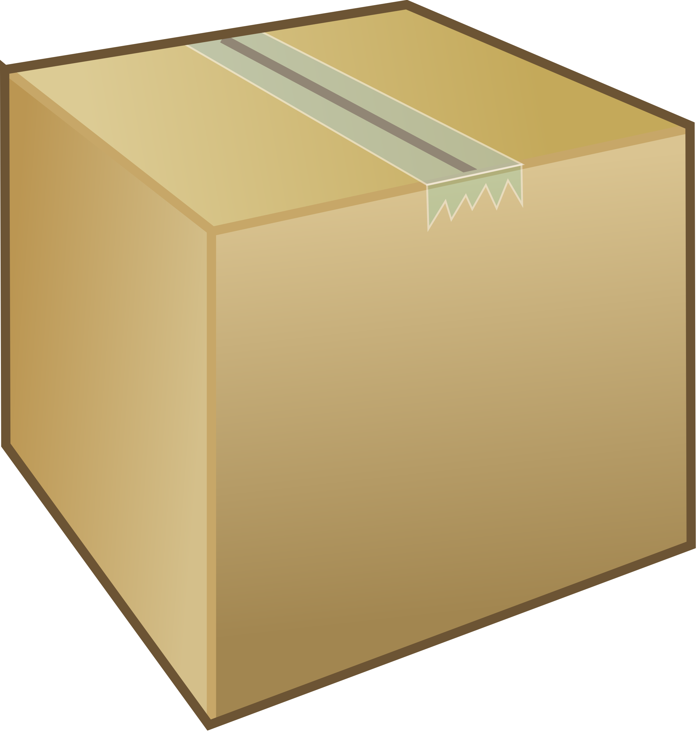 Svg boxes cardboard. Clipart box package big