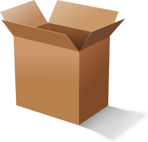 Box clipart packaging. Free packing supplies cliparts