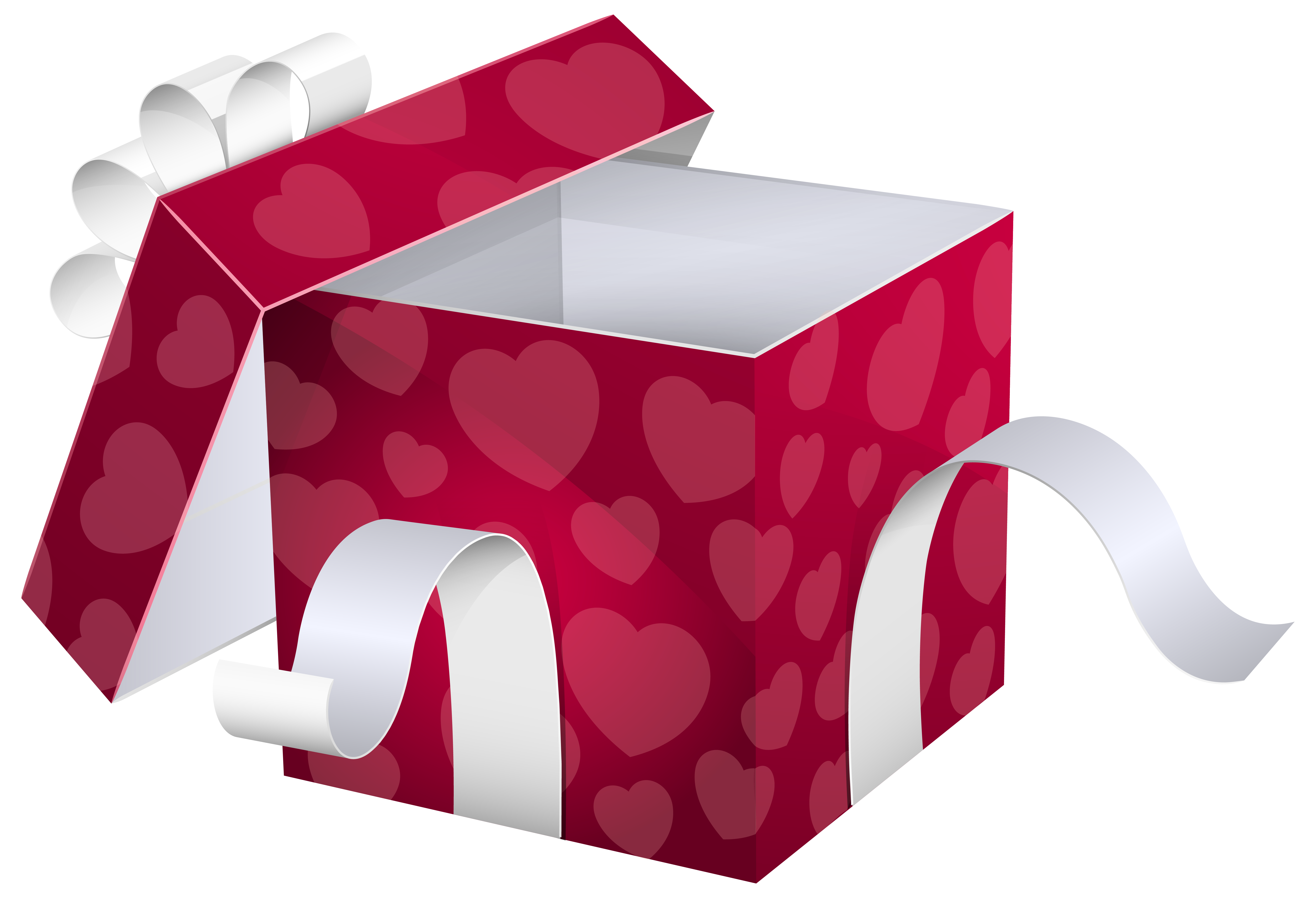 Box clipart quality. Open pink gift png