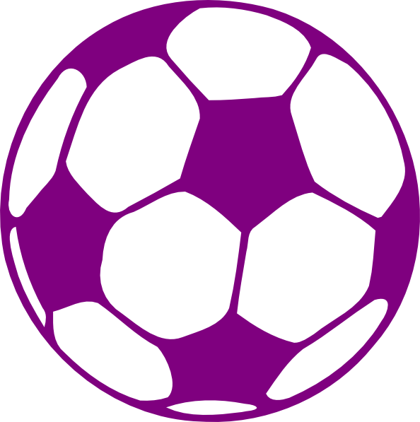 Box clipart soccer ball. Purple clip art at