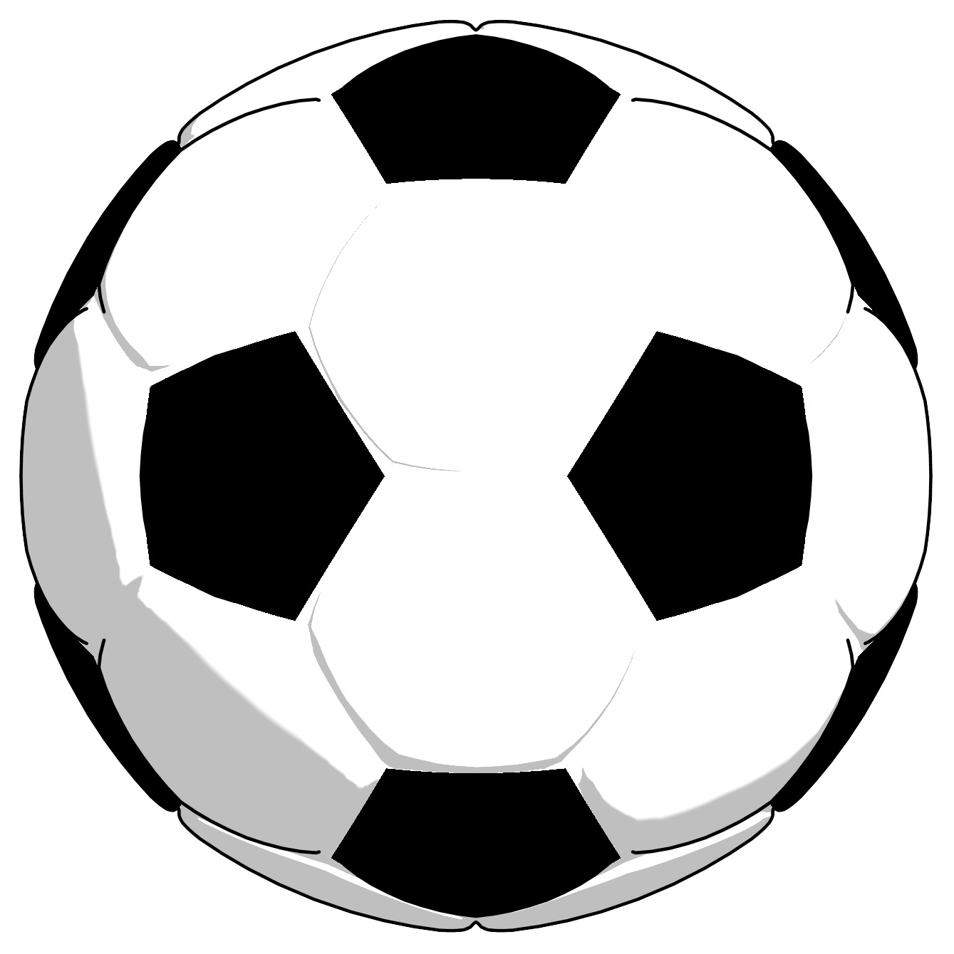 Box clipart soccer ball. Black white png picture