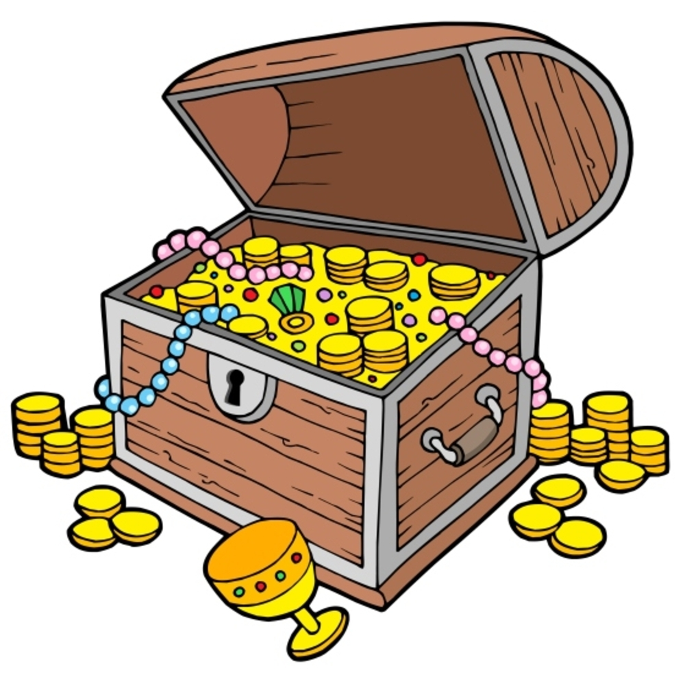 treasure clipart found treasure