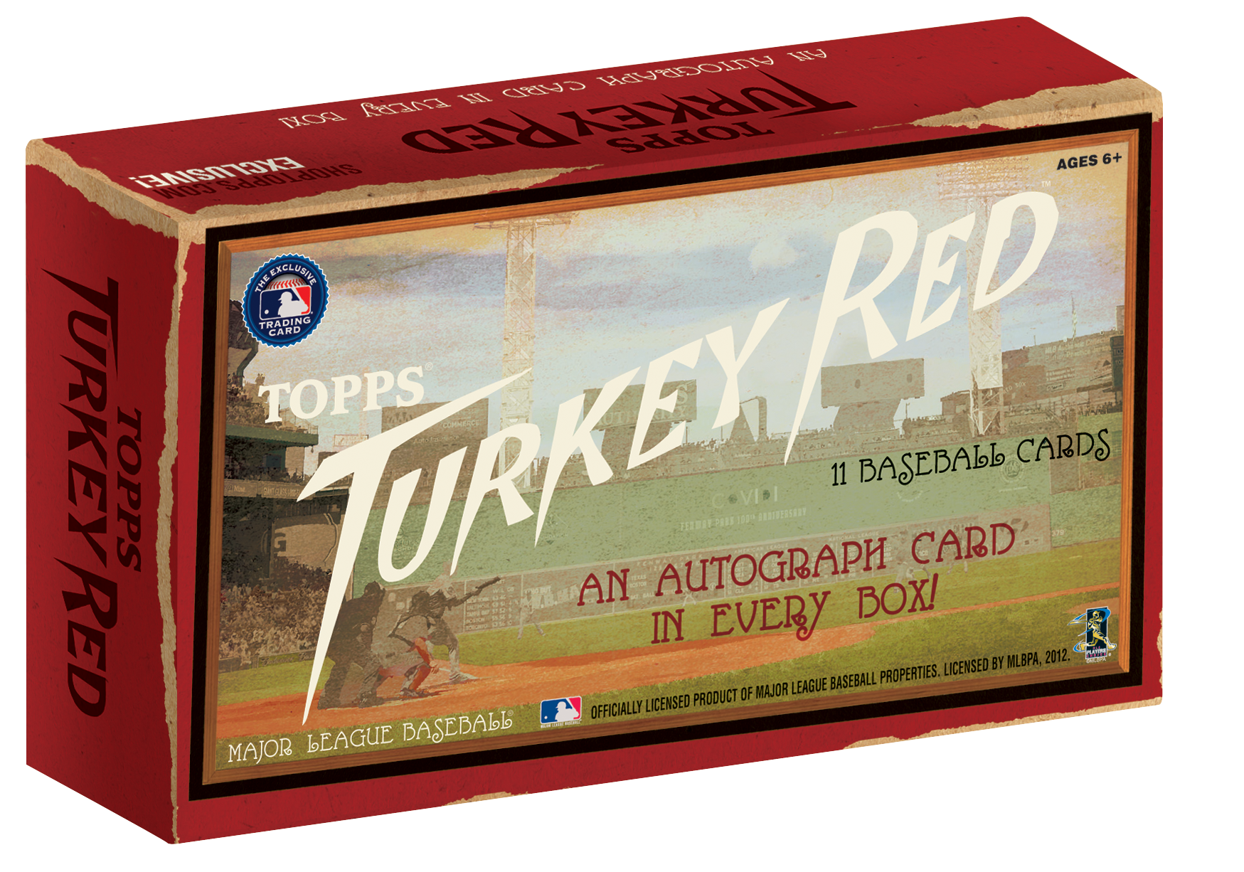 Box of cards png. First look topps turkey