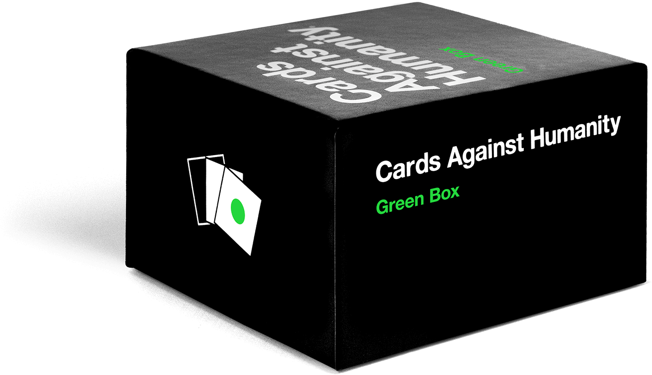 Box of cards png. Against humanity green malta