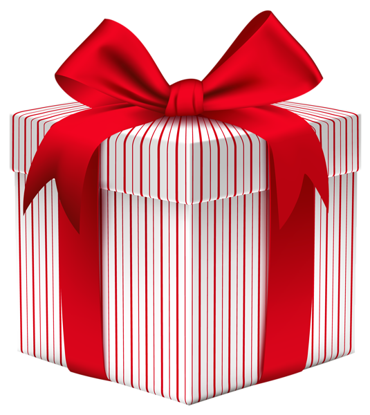 Gift with bow amazing. Box of cards png free stock