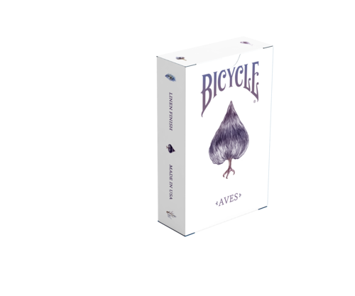 Box of cards png. Aves bicycle playing spade
