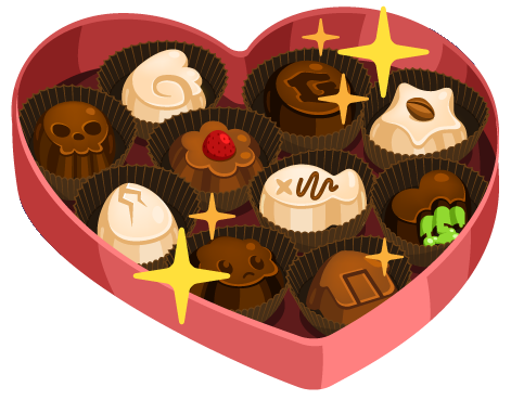 chocolate box png
