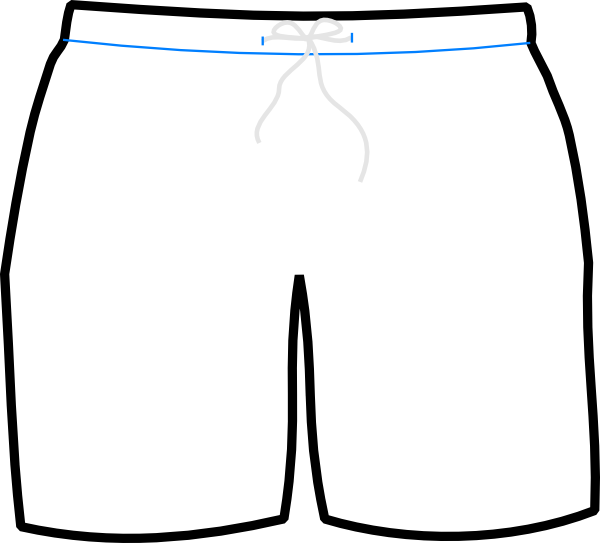 Boxer clipart football shorts. Images of white
