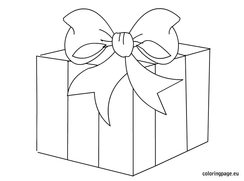 Boxes clipart black and white. Present gift box station