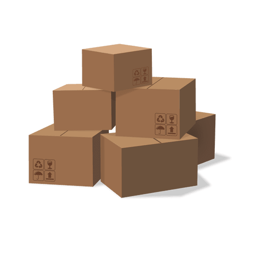 shipping box png