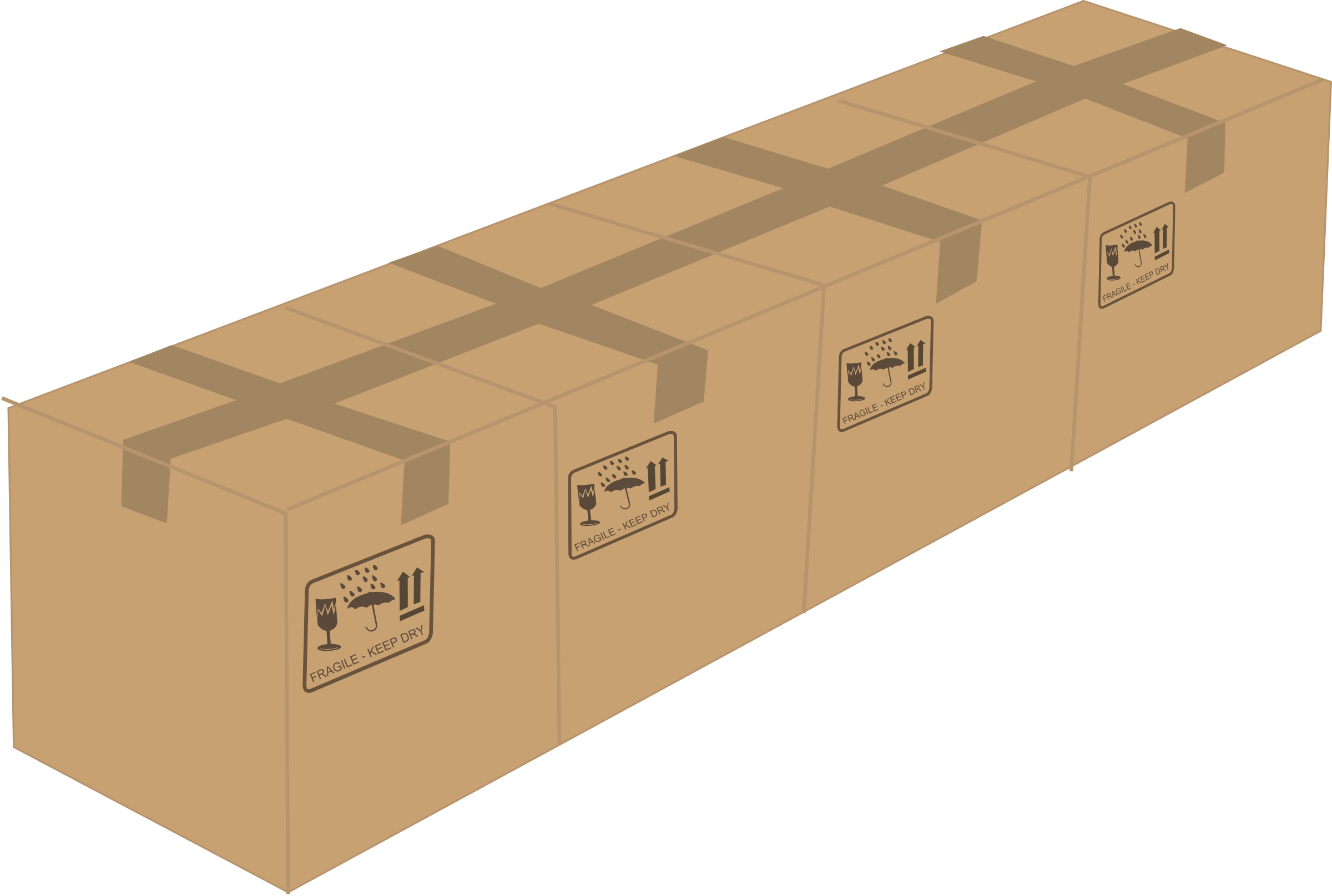 Boxes png. Four icons free and