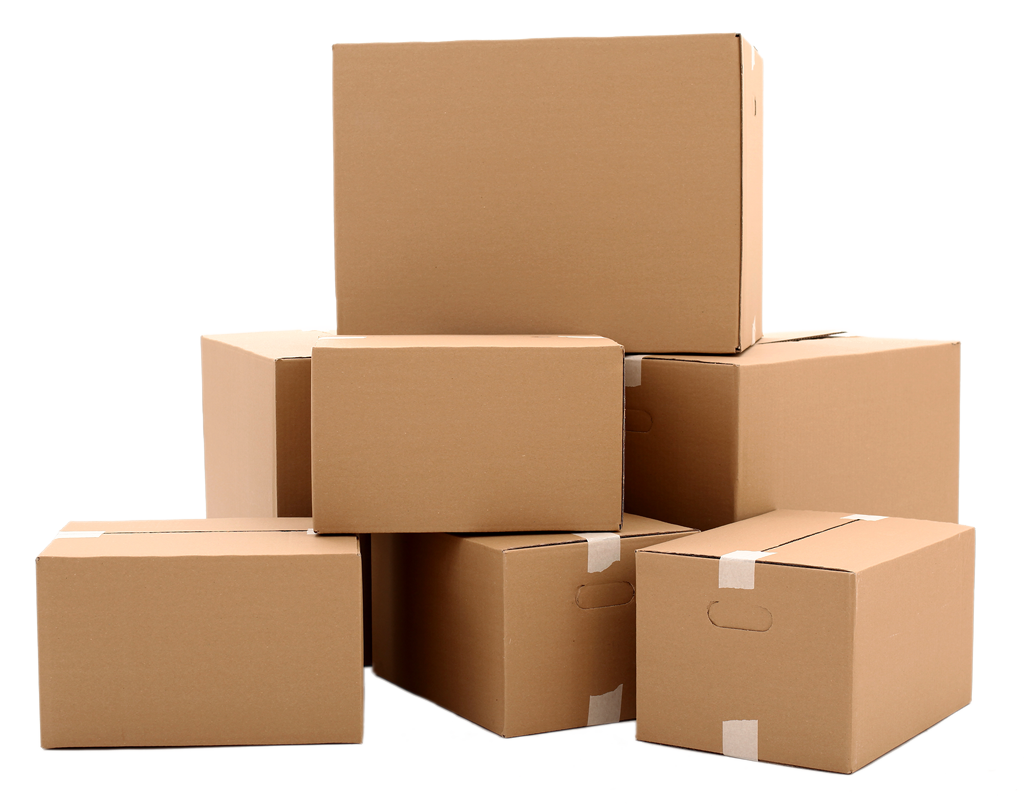 Boxes png. New used and gaylord