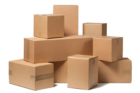 Boxes png. The history of cardboard