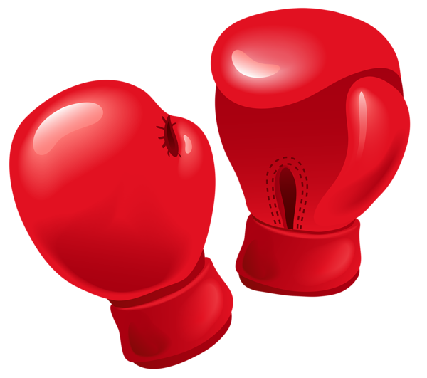 Boxing gloves png for games. Red vector clipart things