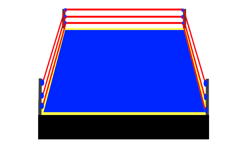Boxing ring png. Opengameart org boxingringpng